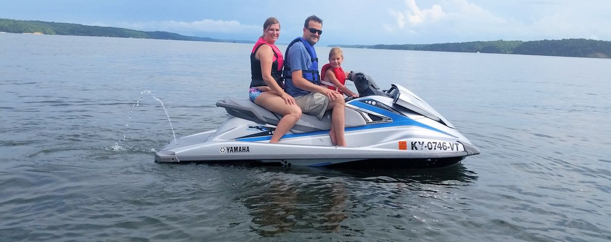 Jet Ski Rentals on Kentucky Lake and Lake Barkley