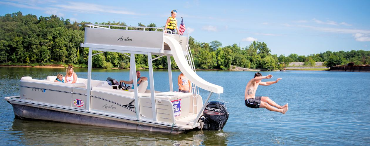 Pontoon Rentals on Kentucky Lake and Lake Barkley