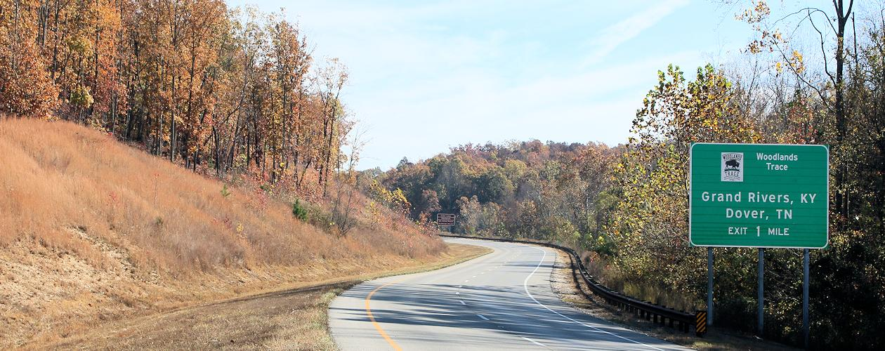 Scenic Drives in the Kentucky Lake Area