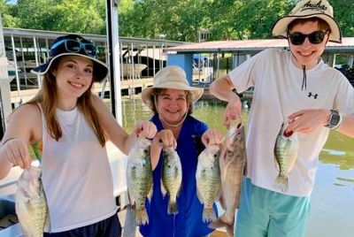 Many Crappie Heading Deeper; Catfish Picking Up