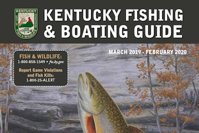 Kentucky's New Fishing & Boating Guide Now Available