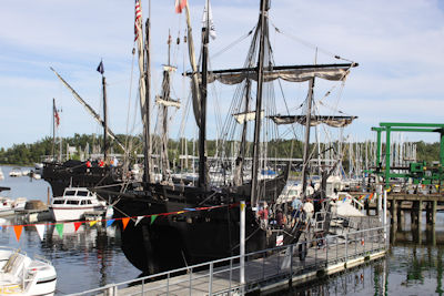 View The Nina & The Pinta in Grand Rivers