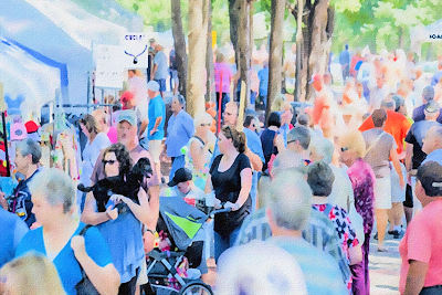 Labor Day Weekend Arts & Crafts Festival in Grand Rivers
