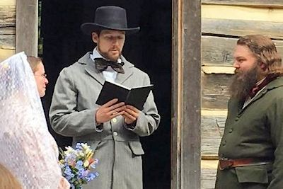 Homeplace 1850s Wedding Planned