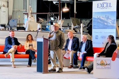 Ground Breaking Held for New Excel Boats Plant in Union City, Tenn.