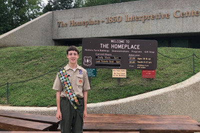 Eagle Scout Project Delivered to the 1850s Homeplace